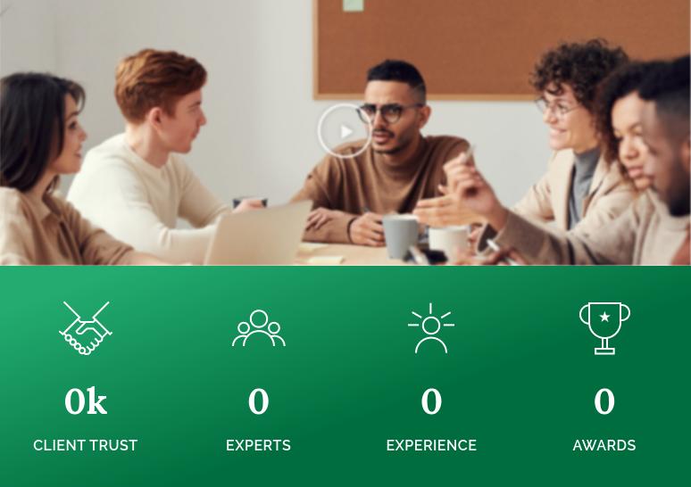 Leur site ouaib indique 0 client, 0 expert, 0 experience, 0 award.