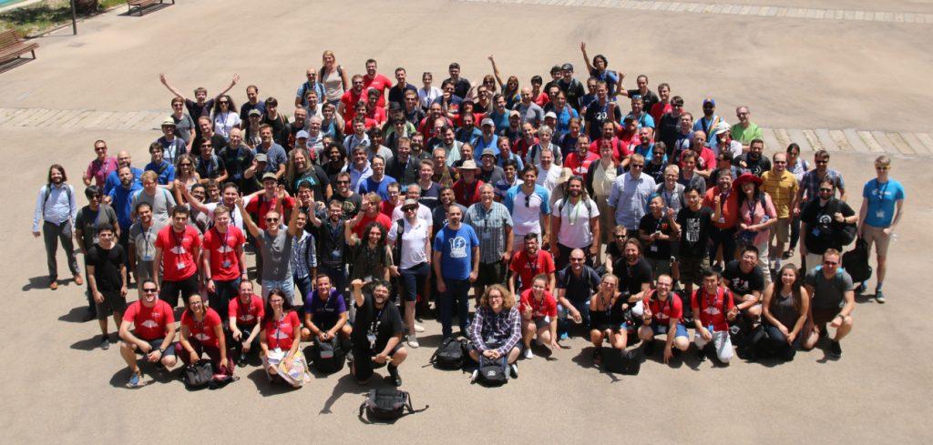 Photographie de tous les participants au Guadec 2018