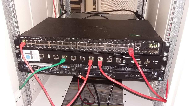 Notre installation dans le datacenter de Cogent à Montpellier