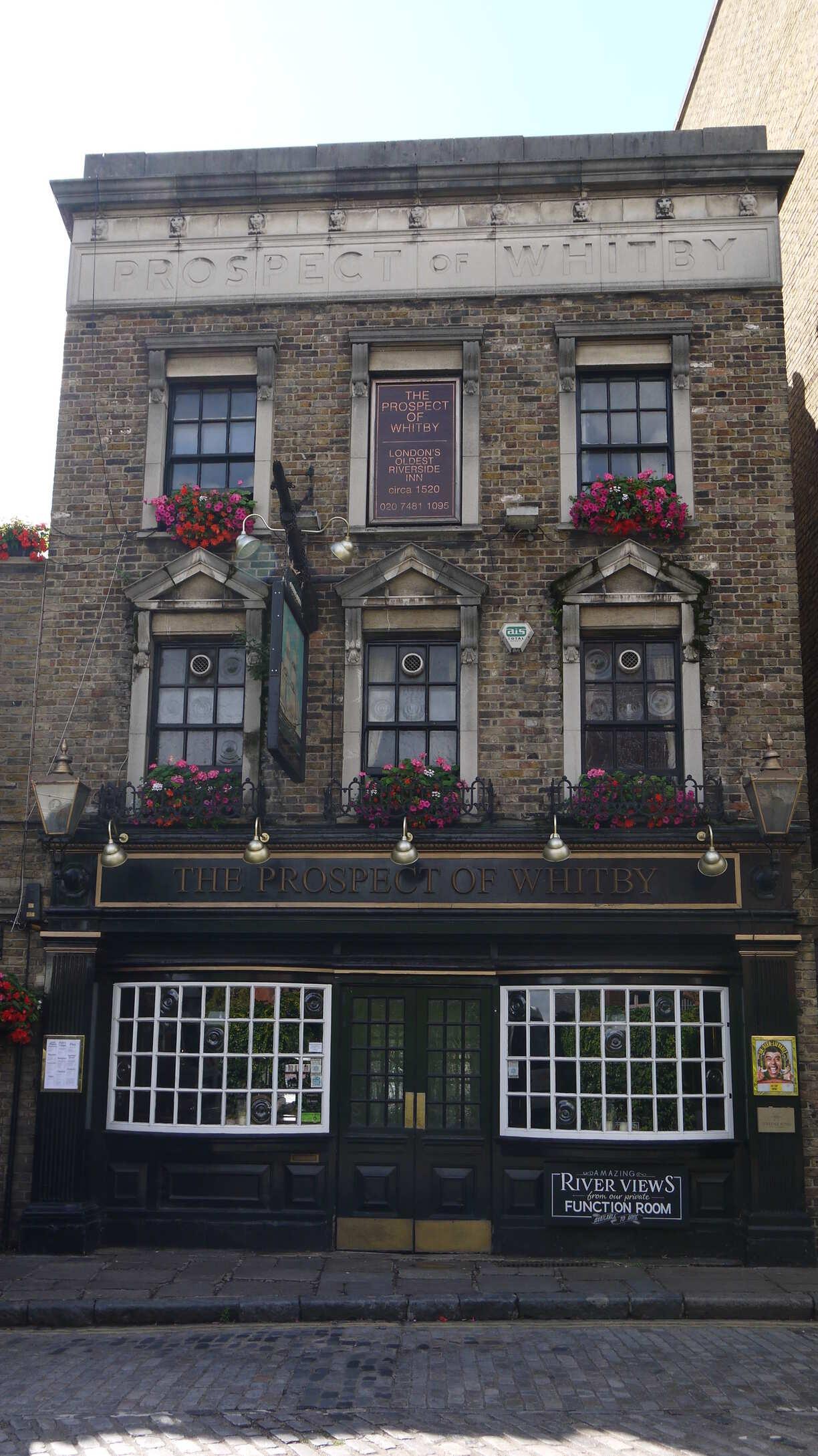 Un ancien pub de Londres le Prospect Of Whitby