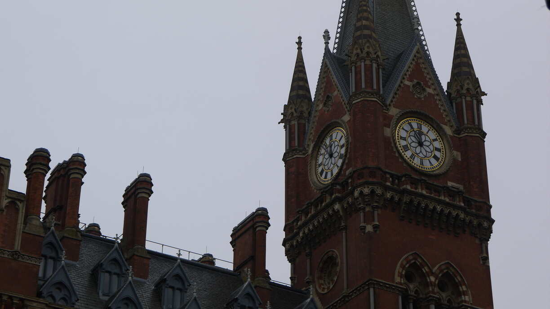 Clocher de la gare Saint Pancras