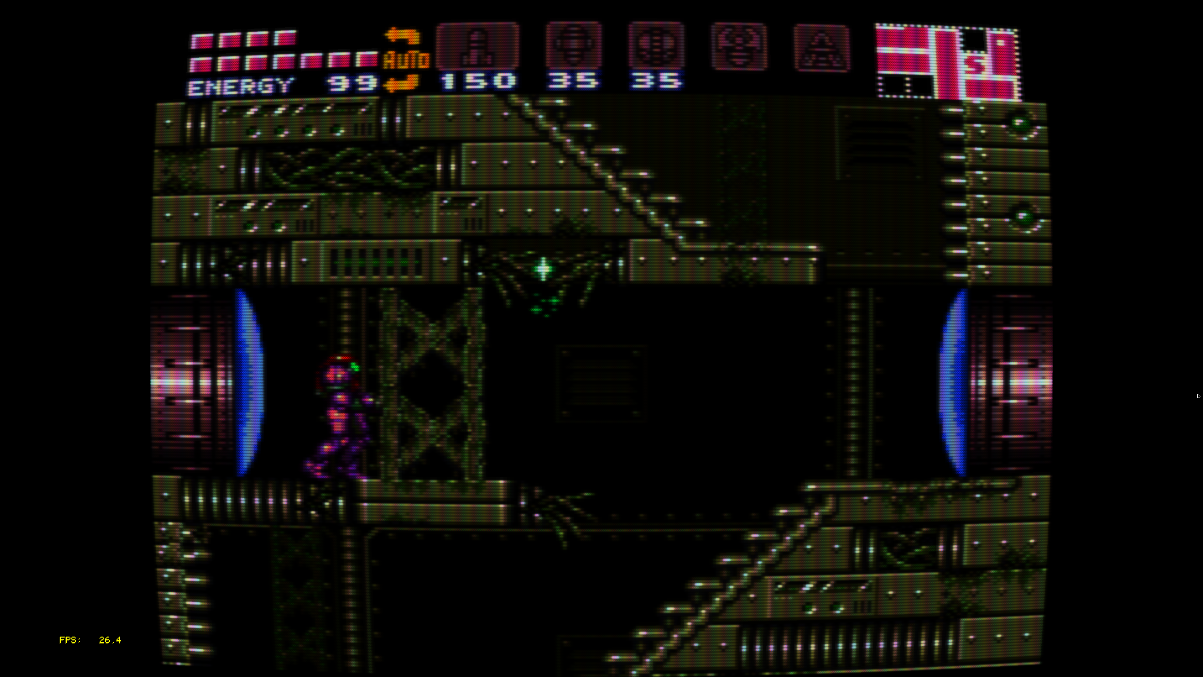 Capture d'écran de super metroid