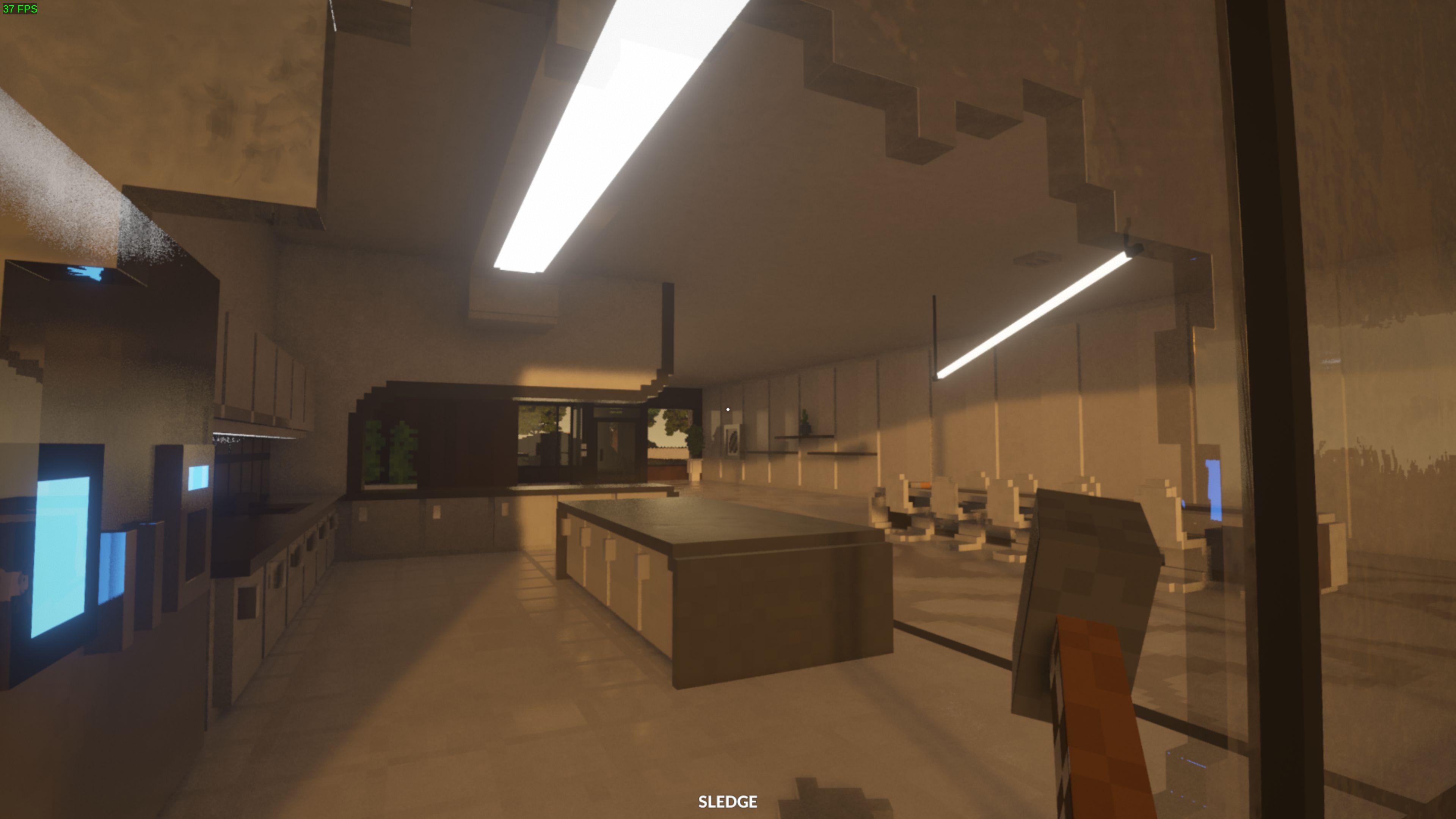 capture d'écran de Teardown montrant les effets de raytracing