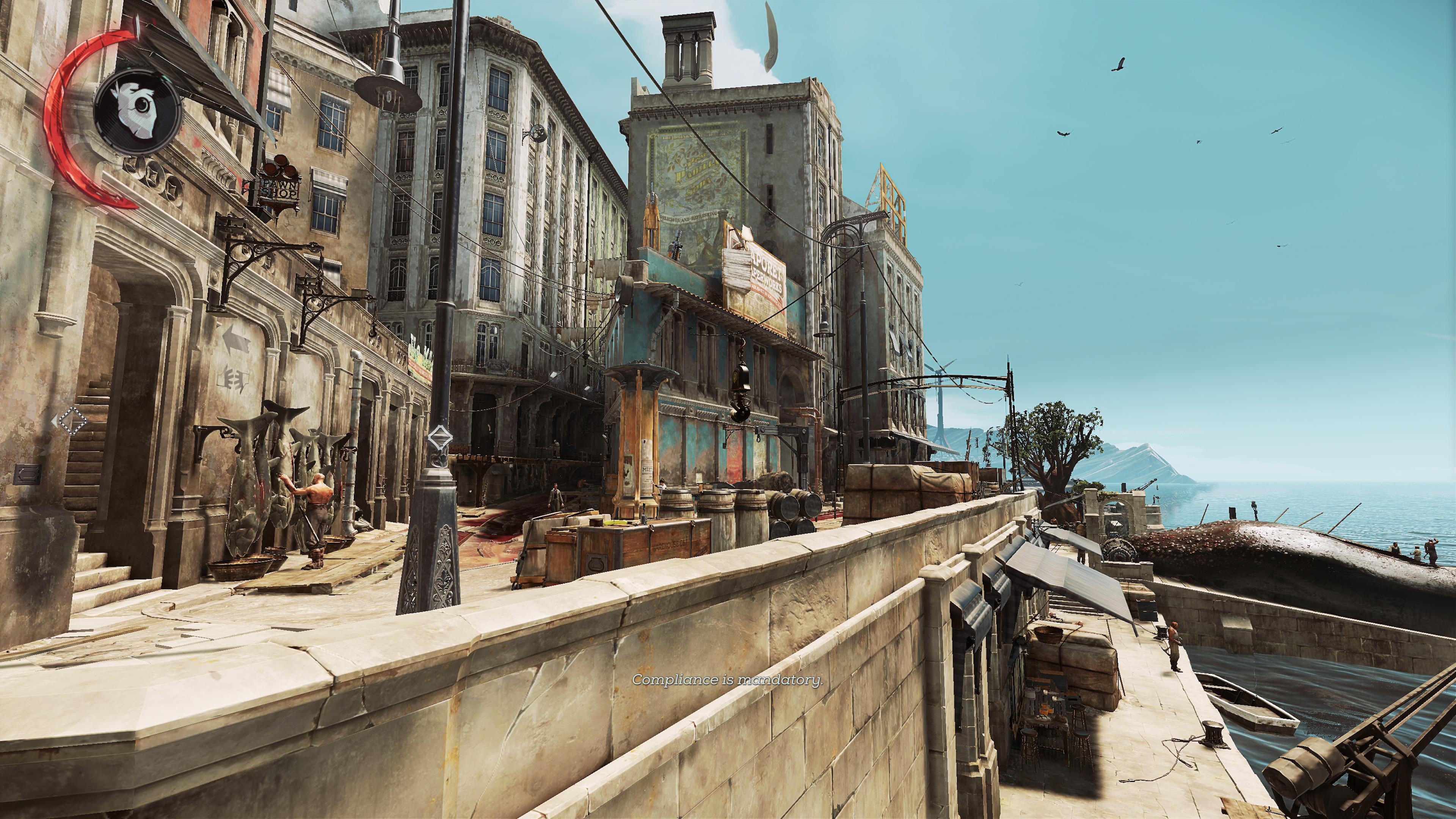 Autre angle de vue du quai.